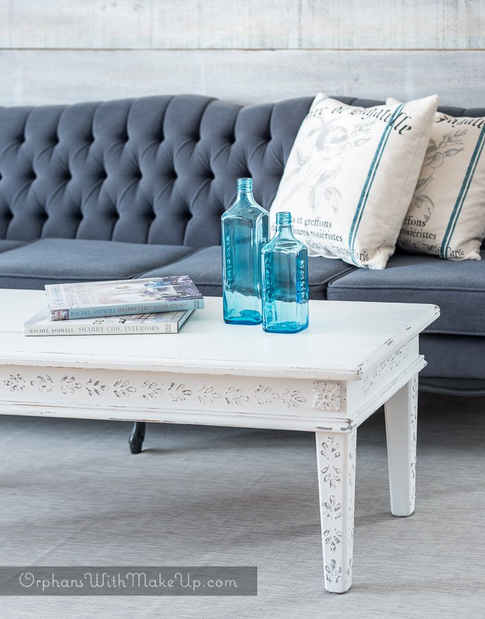 12 fabulous furniture makeovers home stories a to z Eclectic coffee table makeovers