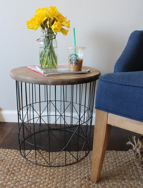 Inspirational SIDE TABLE MAKEOVER BY WONDERFULLY MADE BY LESLIE