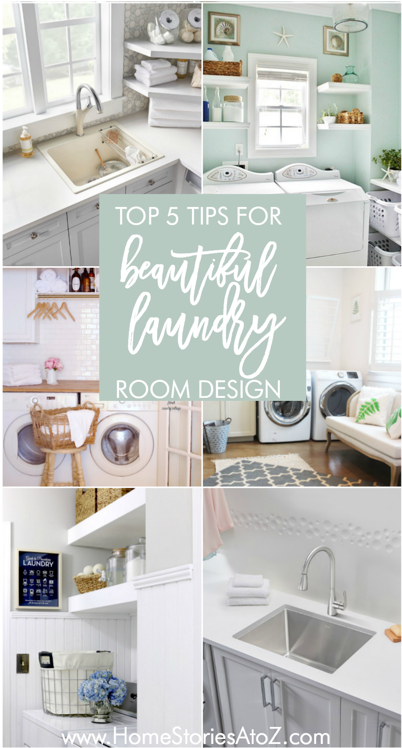 Top 5 Tips For Laundry Room Design