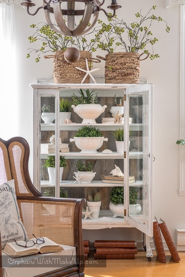 SPRING CHINA HUTCH BY ORPHANS WITH MAKEUP