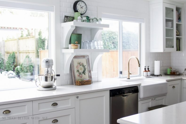 FRENCH COUNTRY FARMHOUSE KITCHEN BY SO MUCH BETTER WITH AGE