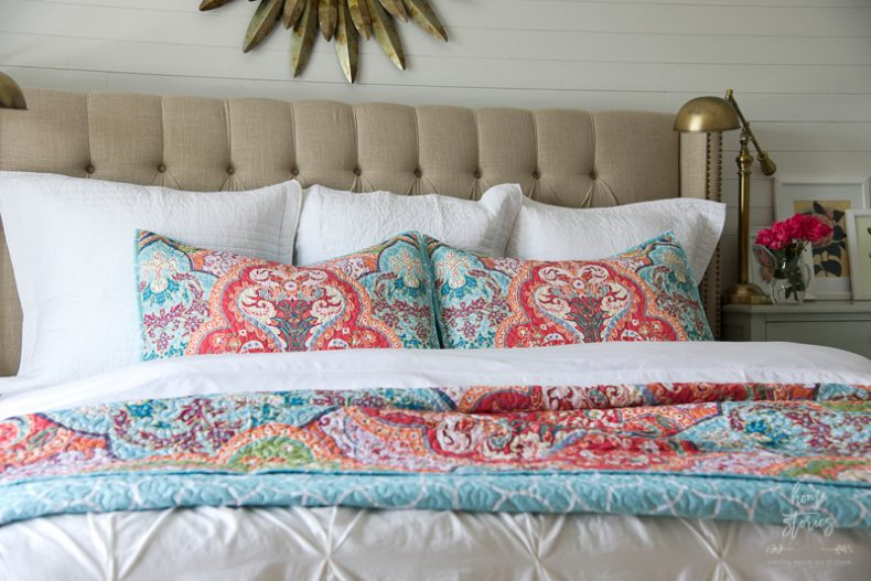 how to refresh a bedroom on a budget