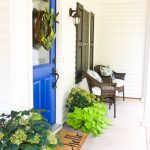 Blue and Green Porch: Endless Summer Hydrangeas