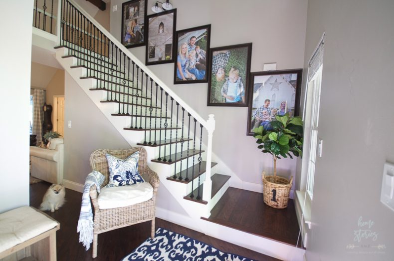 How to Create Stairway Picture Wall Gallery Wall