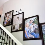 How to Create a Stairway Picture Wall
