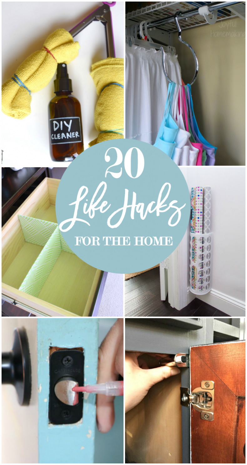 20 life hacks for your home home stories a to z for Household hacks