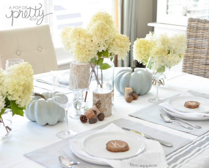 30 fall dining room and tablescape ideas for Dining room tablescapes ideas