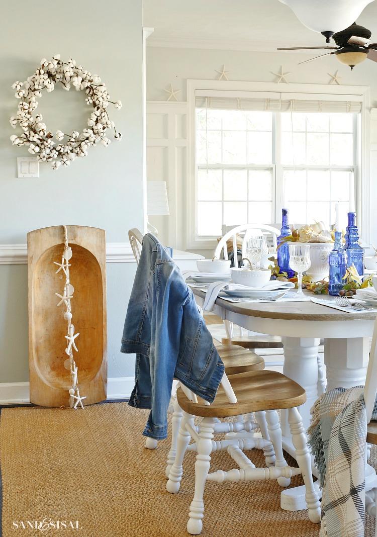 COASTAL FALL DINING ROOM BY SAND U0026 SISAL