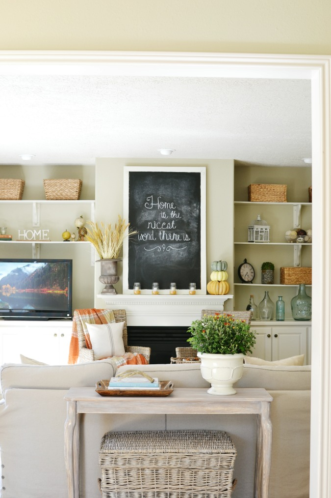 Inspirational  A FALL HAVEN FROM AT THE PICKET FENCE