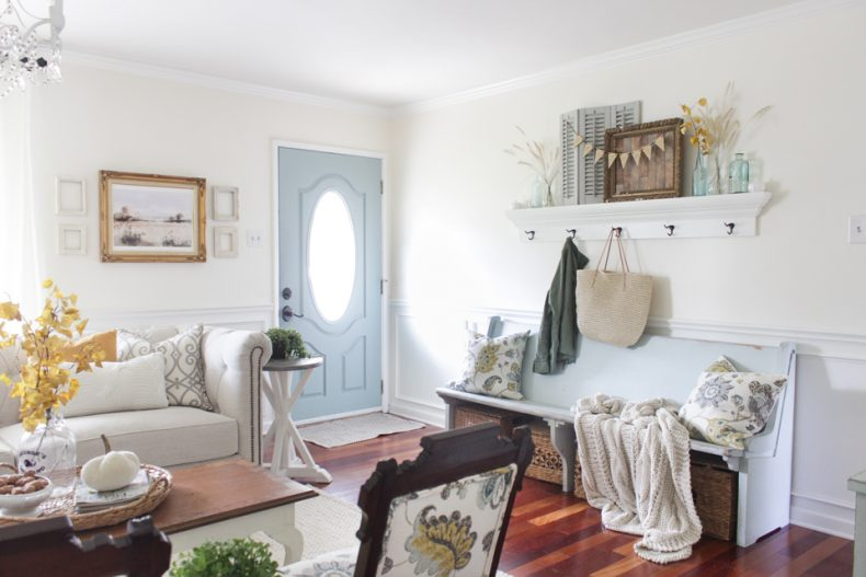 Trend  FALL IN SUBURBIA BY SHADES OF BLUE INTERIORS
