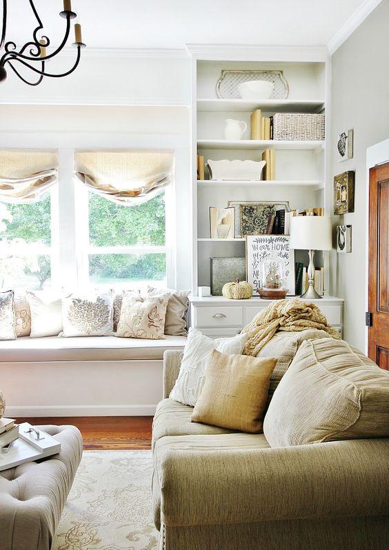 fall living room decor. NEUTRAL FALL GORGEOUS LIVING ROOM BY THISTLEWOOD FARMS 35 Fall Living Room Decorating Ideas
