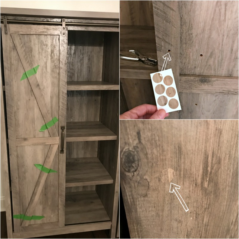 barn door storage cabinet walmart