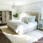 White Master Bedroom Makeover