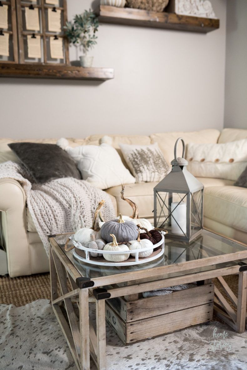 Neutral Fall Decor Home Tour with Shaw Floors