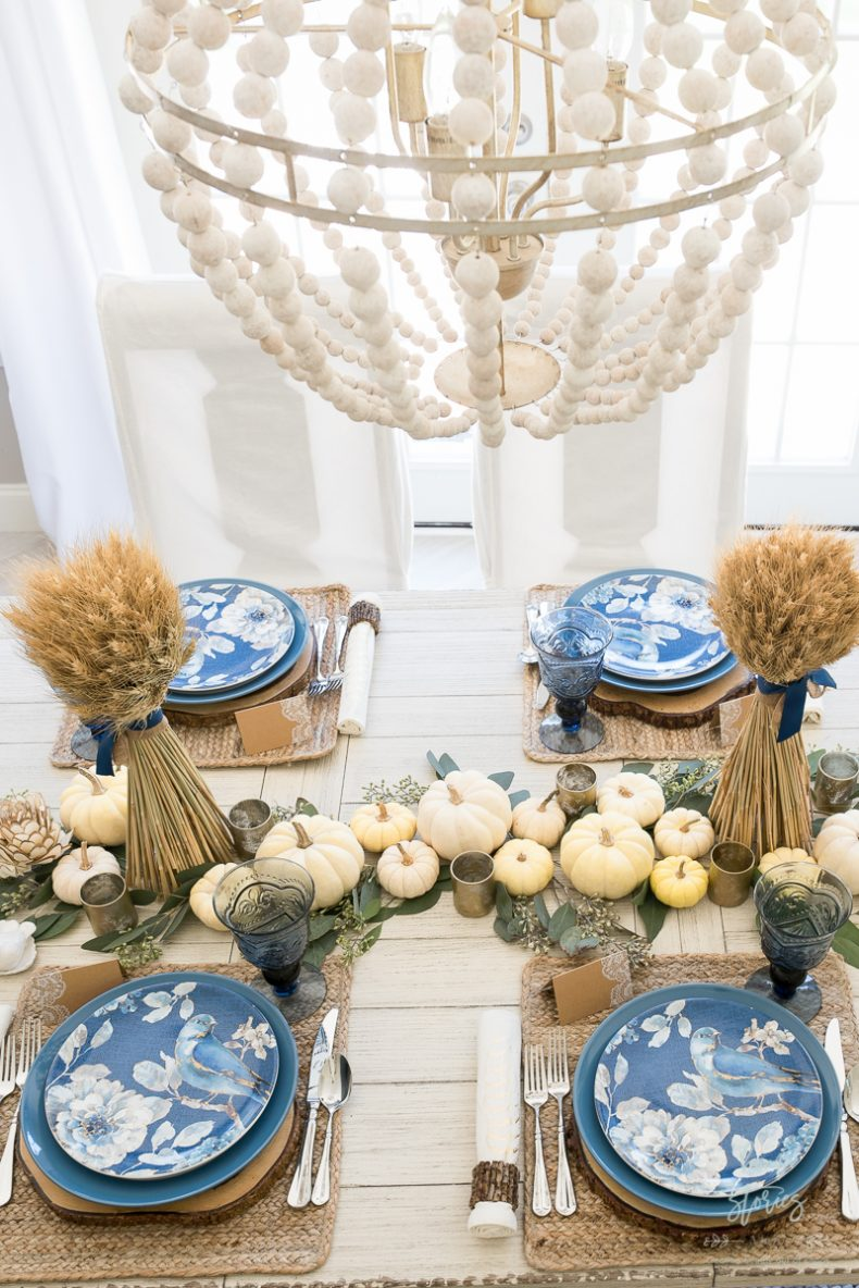 I Tied Some Coordinating Blue Ribbon Around The Bundles To Better Match My Decor Look Is Elegant Yet Simple And More Importantly It Took Less Than