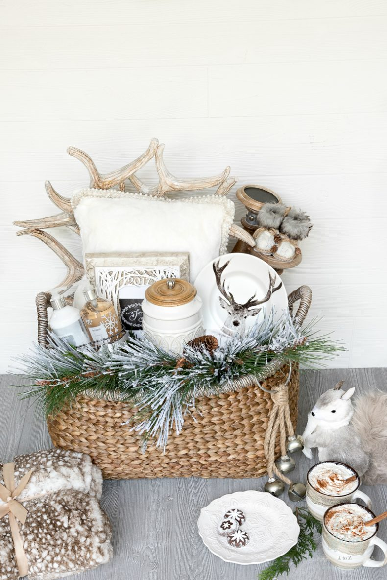 Creative and luxe holiday gift basket ideas with pier
