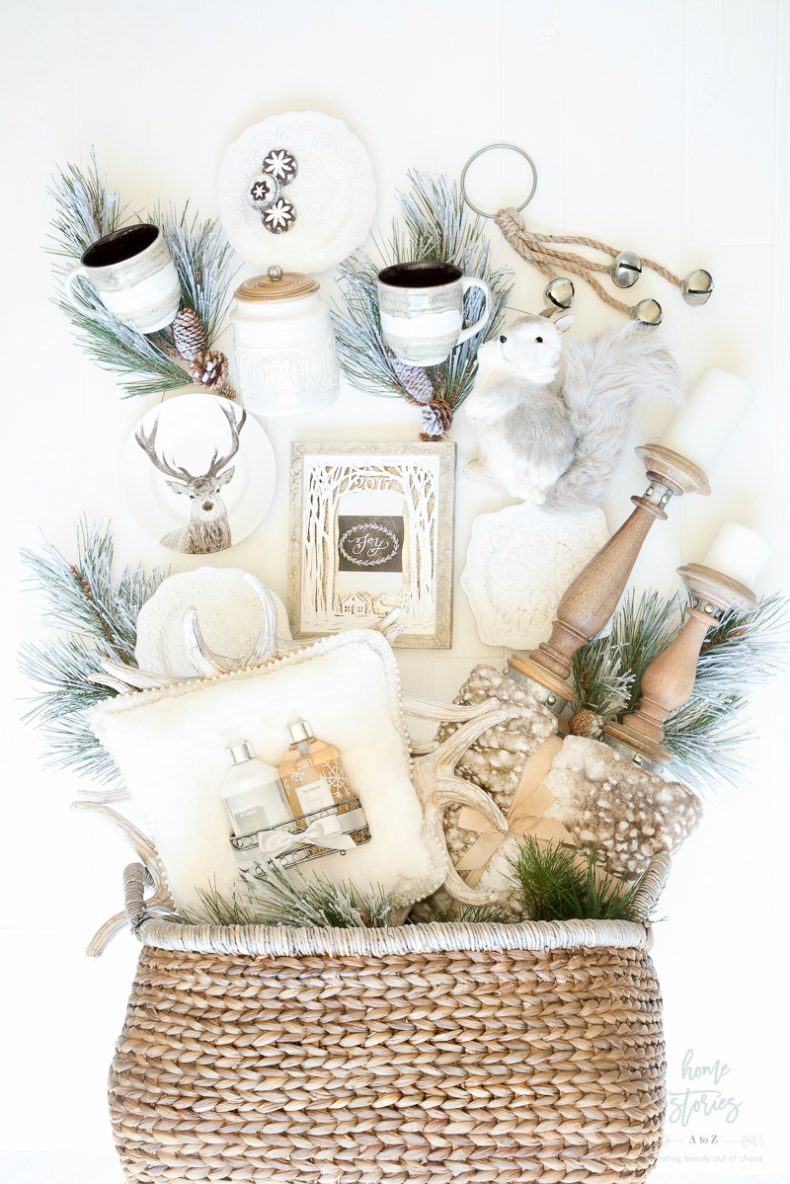 Creative and Luxe Holiday Gift Basket Ideas with Pier 1