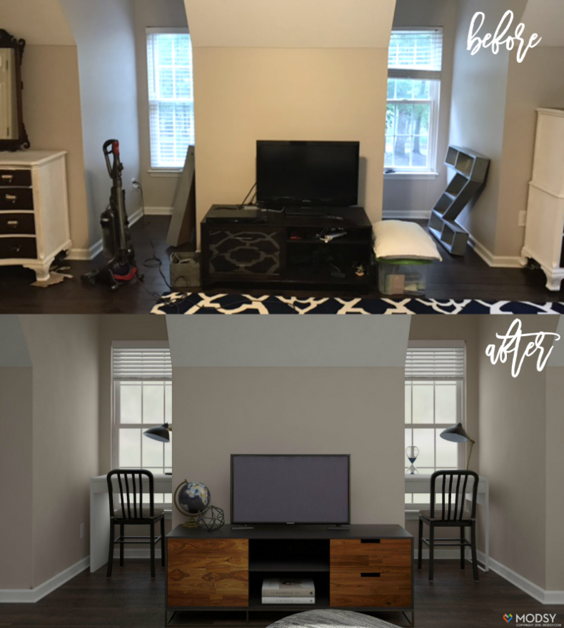 Boys Bedroom Makeover: Amazing Room Redesign Service: Boys Bedroom Makeover With