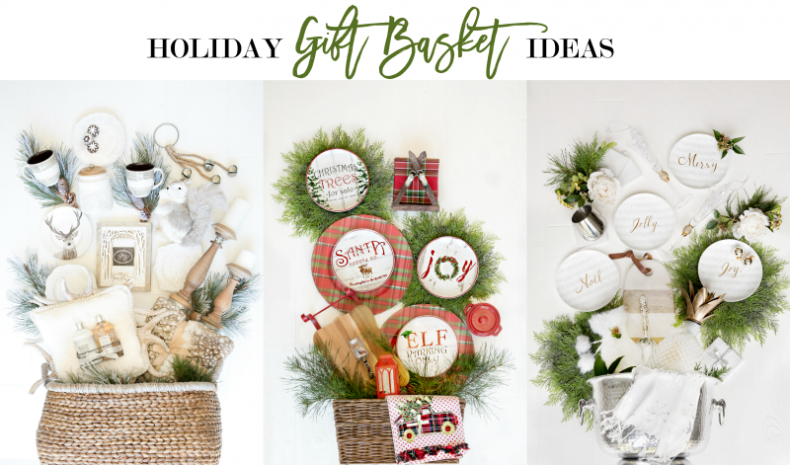 im partnering with pier 1 today to bring you some creative holiday gift basket ideas i think youre going to love if youve struggled in the past with