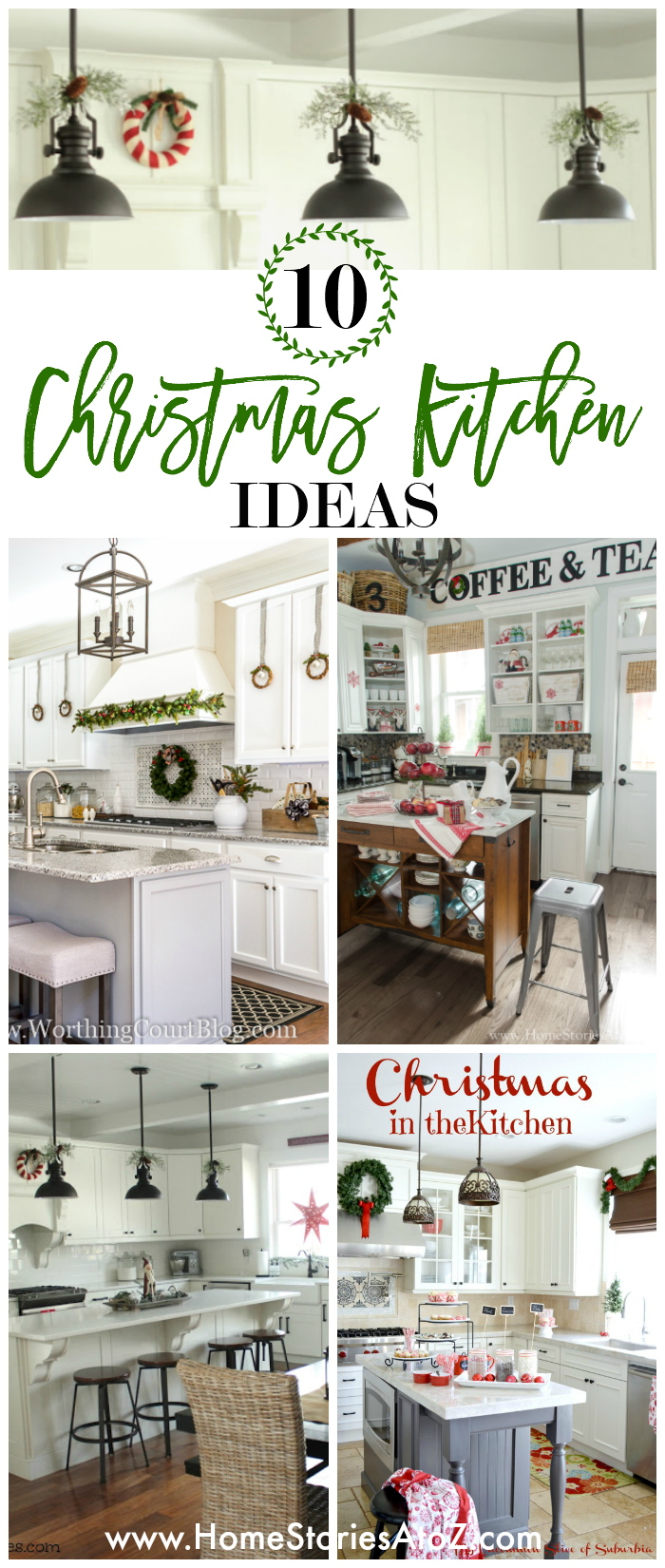 10 Festive Christmas Kitchen Ideas - Home Stories A to Z