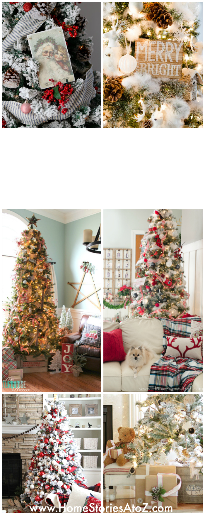 20 beautiful christmas tree ideas home stories a to z House beautiful christmas trees