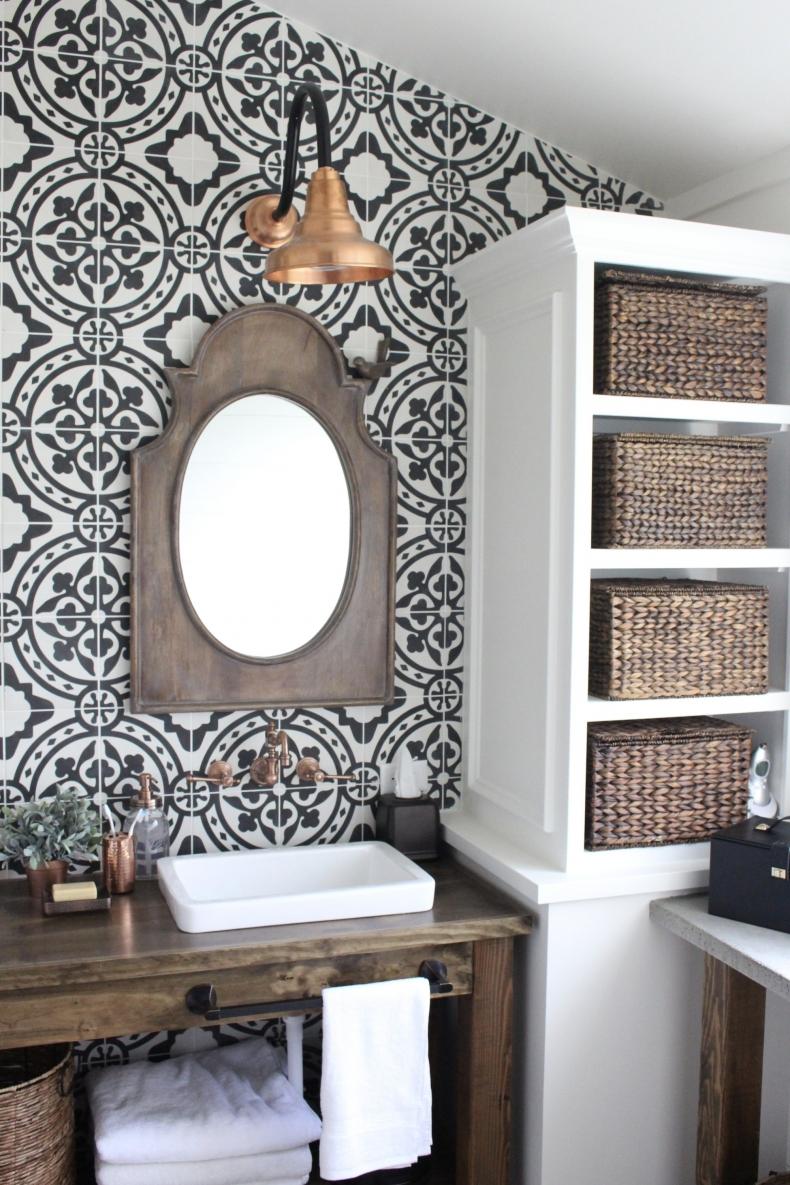 Laundry Room Makeover Wallpaper