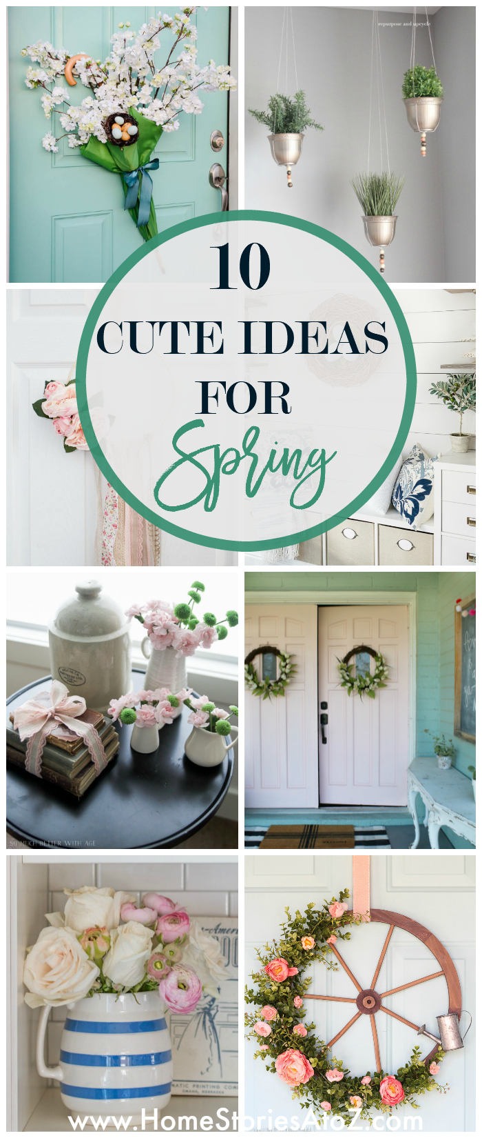 10 Cute and Easy Decorating Ideas for Spring