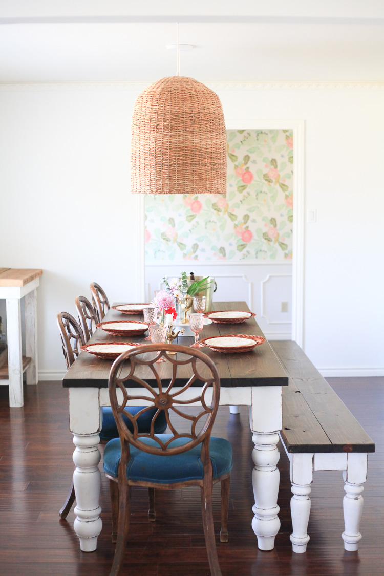 Our Spring Dining Room: 10 Beautiful Spring Home Tours