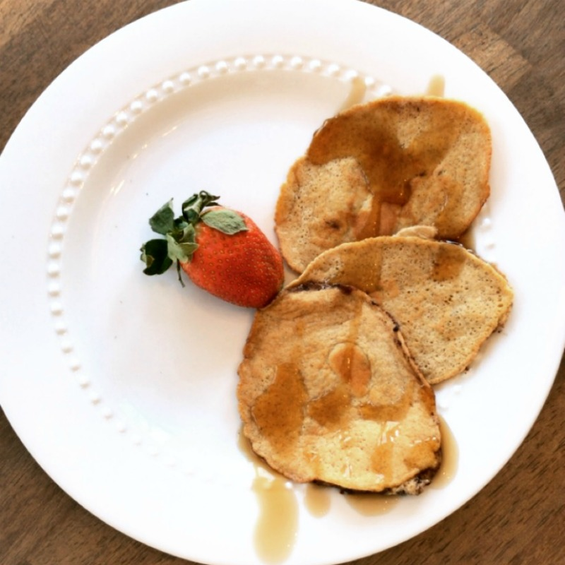 keto cream cheese pancakes
