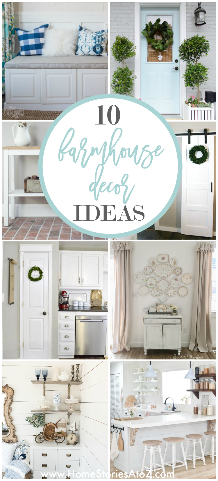 10 Simple Ways to Create Farmhouse Charm in Your Home