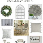 40+ Farmhouse Decor Items on Sale at Kohls