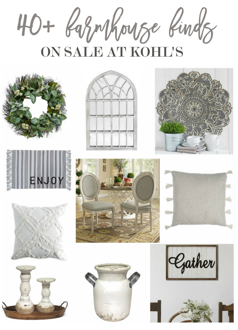 40 farmhouse decor items on sale at kohls home stories for Home interior products for sale