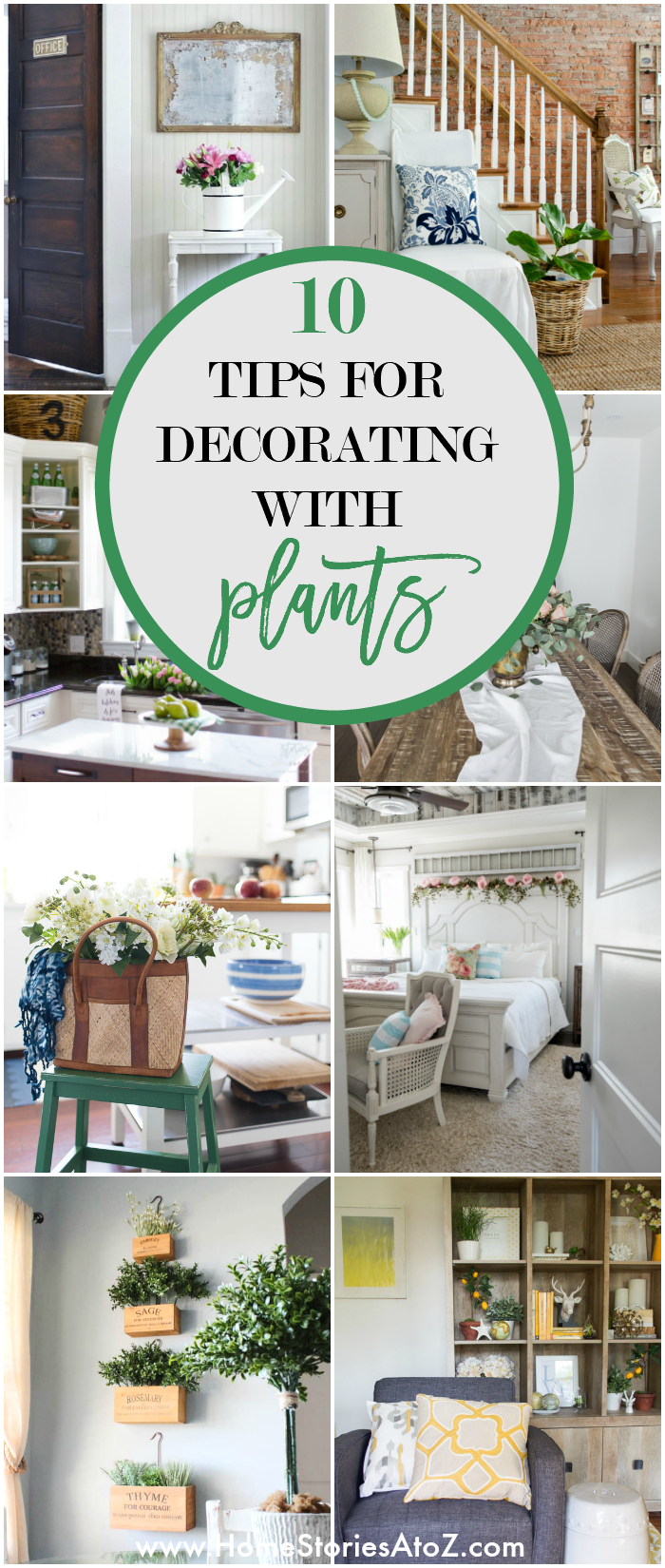 10 Tips For Decorating With Plants And Greenery
