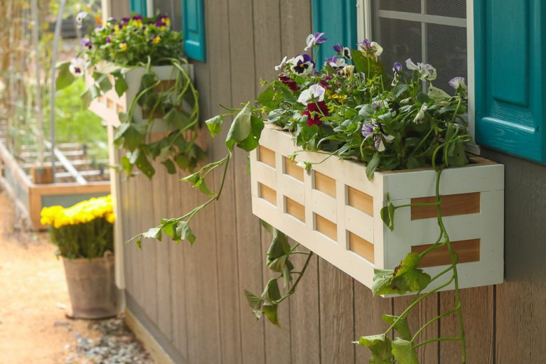 10 Gorgeous Window Box Planters How To Style Build Flower