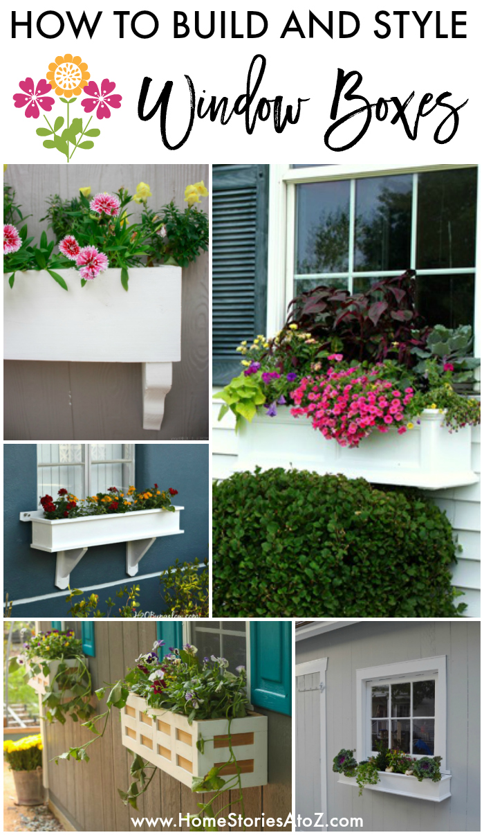 How to Build and Style Window Boxes