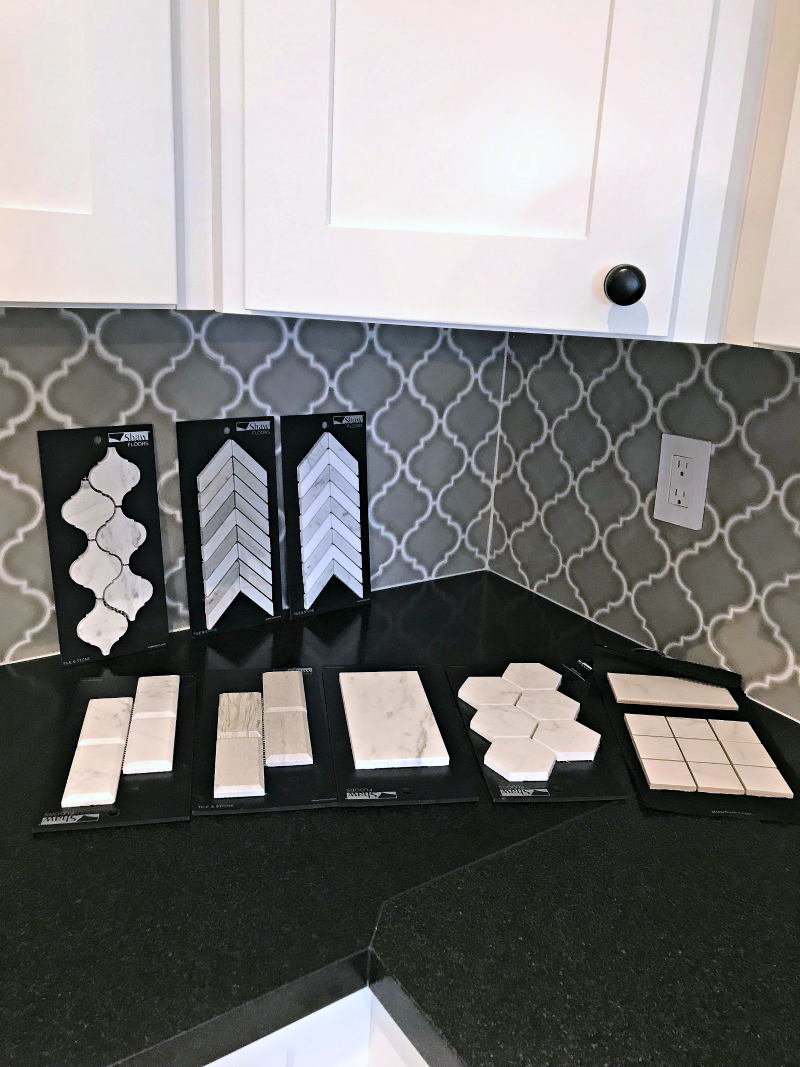 Shaw tile options