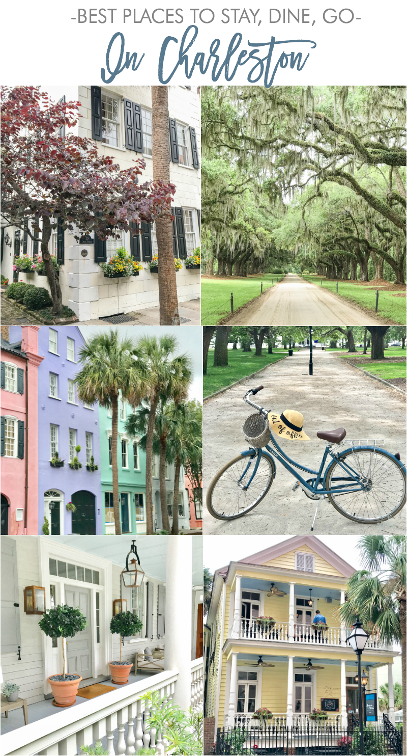 best places to stay dine go in Charleston