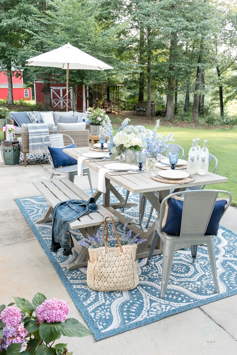 My Affordable Patio Furniture and Outdoor Decorating Tips on Backyard Deck Decor id=14214