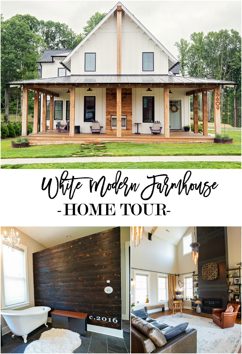 White Modern Farmhouse Home Tour on modern farmhouse-style, modern kitchen faucet, modern white townhouse, modern white rustic, modern white family, modern white garage, modern white church, modern white log cabin, modern white shed, modern white cottage,