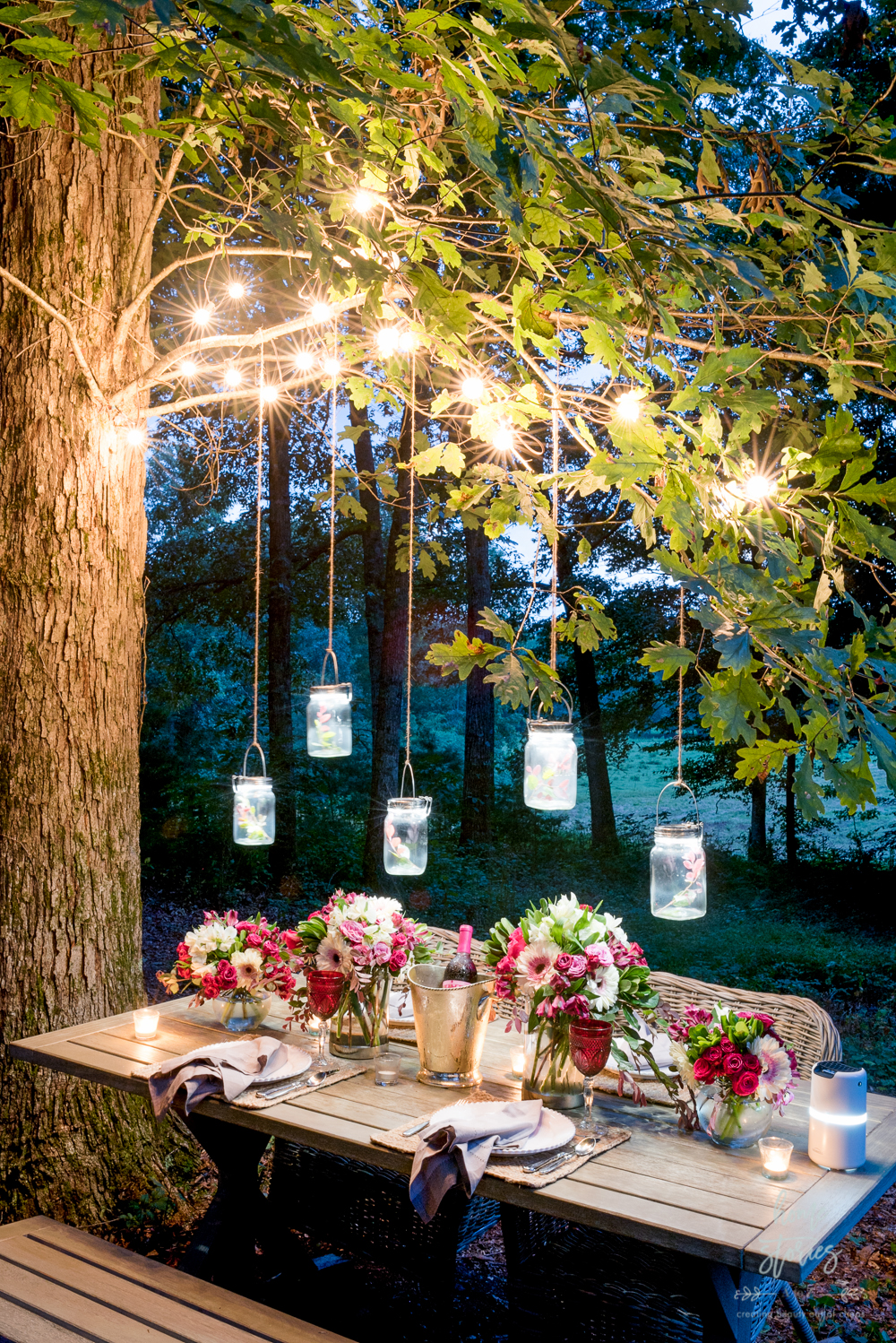 Outdoor Table Setting Tips: Products to Help Create a ... on Backyard Table Decor id=45785