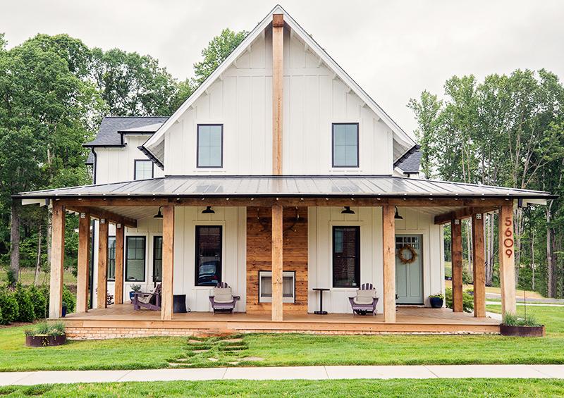 White modern farmhouse home tour for White modern farmhouse