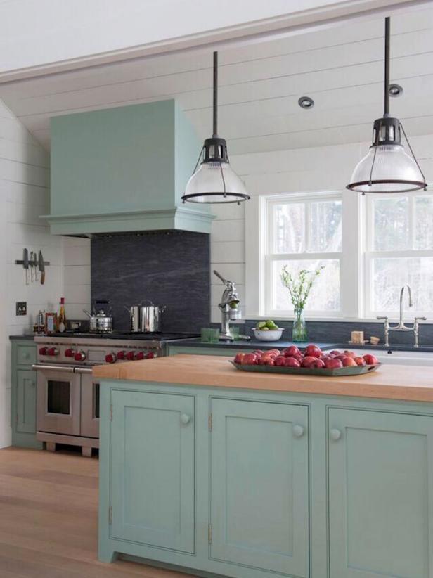 Green Kitchen: 20+ GORGEOUS GREEN KITCHEN CABINET IDEAS