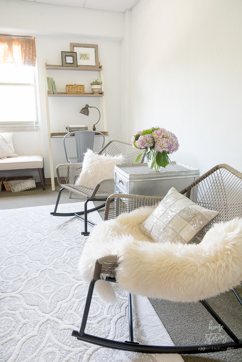 Beautiful Dorm Lounge Makeover