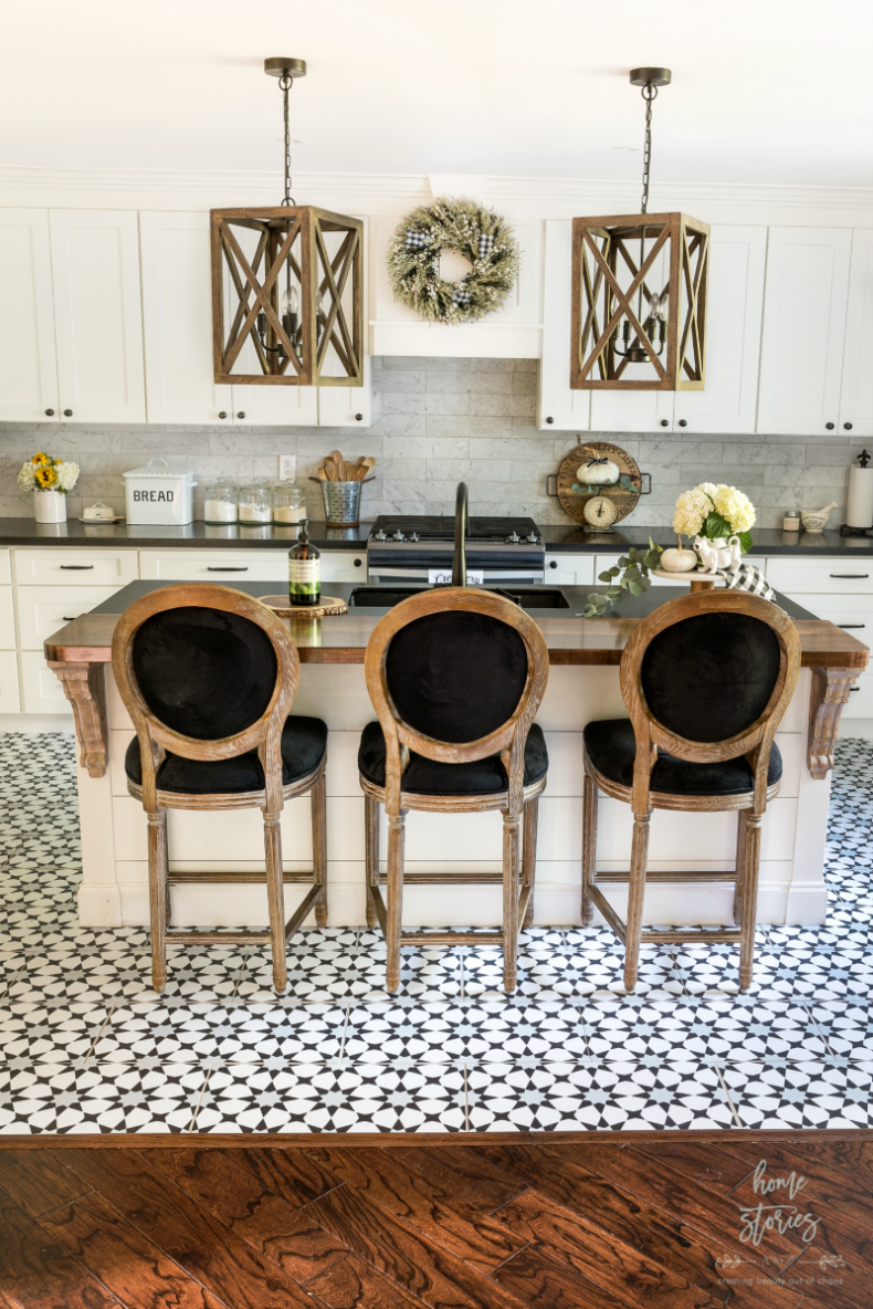 Get The Cement Tile Look For Less Peel Stick Vinyl Sticker Flooring