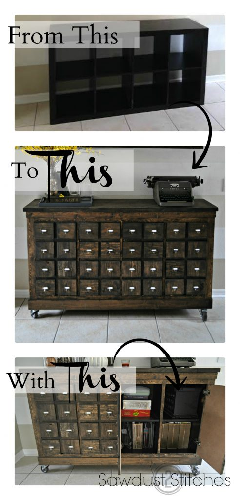 Get Organized 11 Diy Cubby And Cabinet Ideas