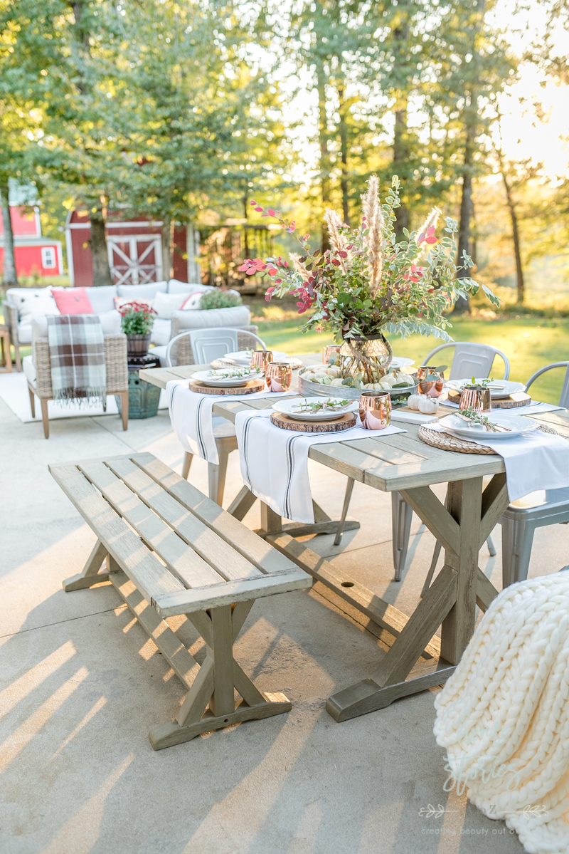 Remarkable Affordable Fall Decor 6 Tips For Southern Outdoor Patio Short Links Chair Design For Home Short Linksinfo