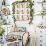 Farmhouse Christmas: Tips on How to Affordably Decorate Christmas Shelves