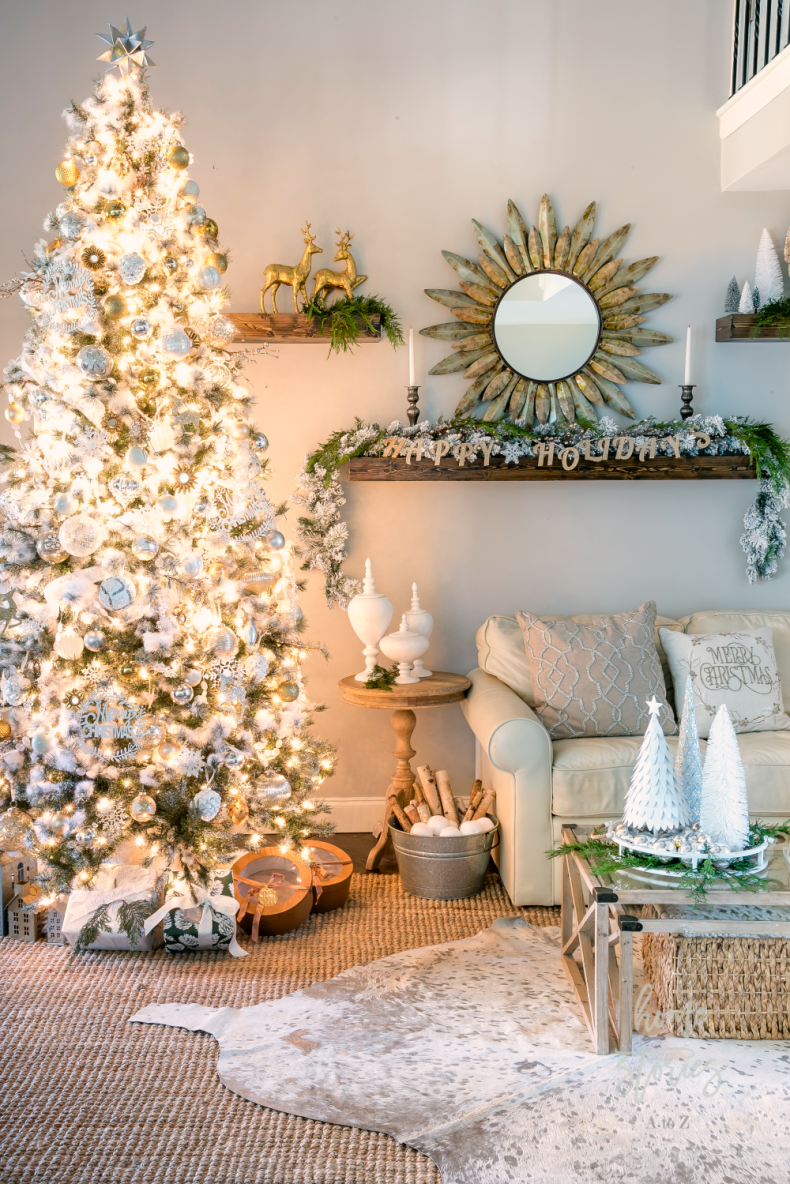 Neutral Christmas: Tips for Decorating a Silver and Gold ...