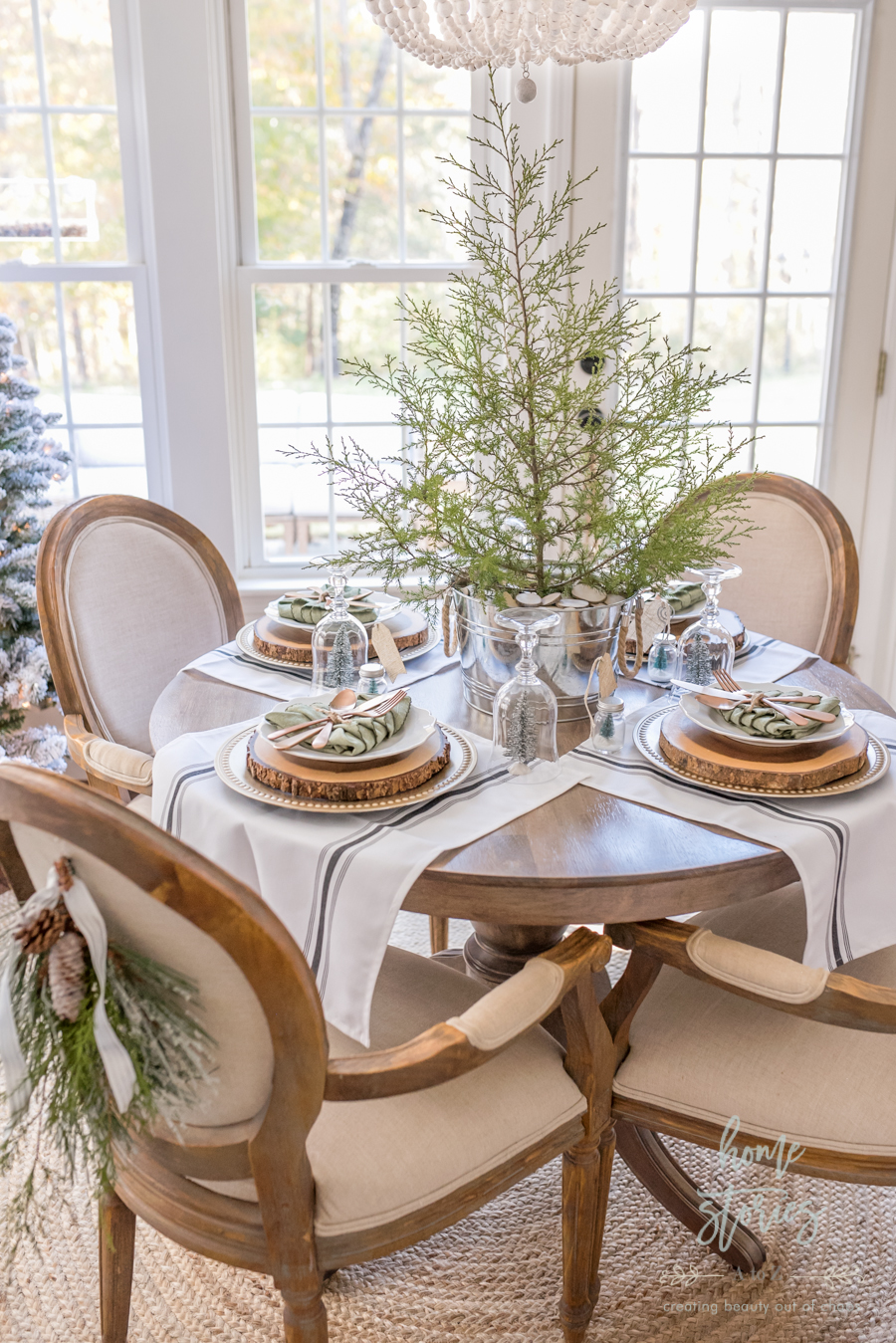 Simple Farmhouse Christmas Table Tips On Creating An Adorable And Affordable Christmas Table