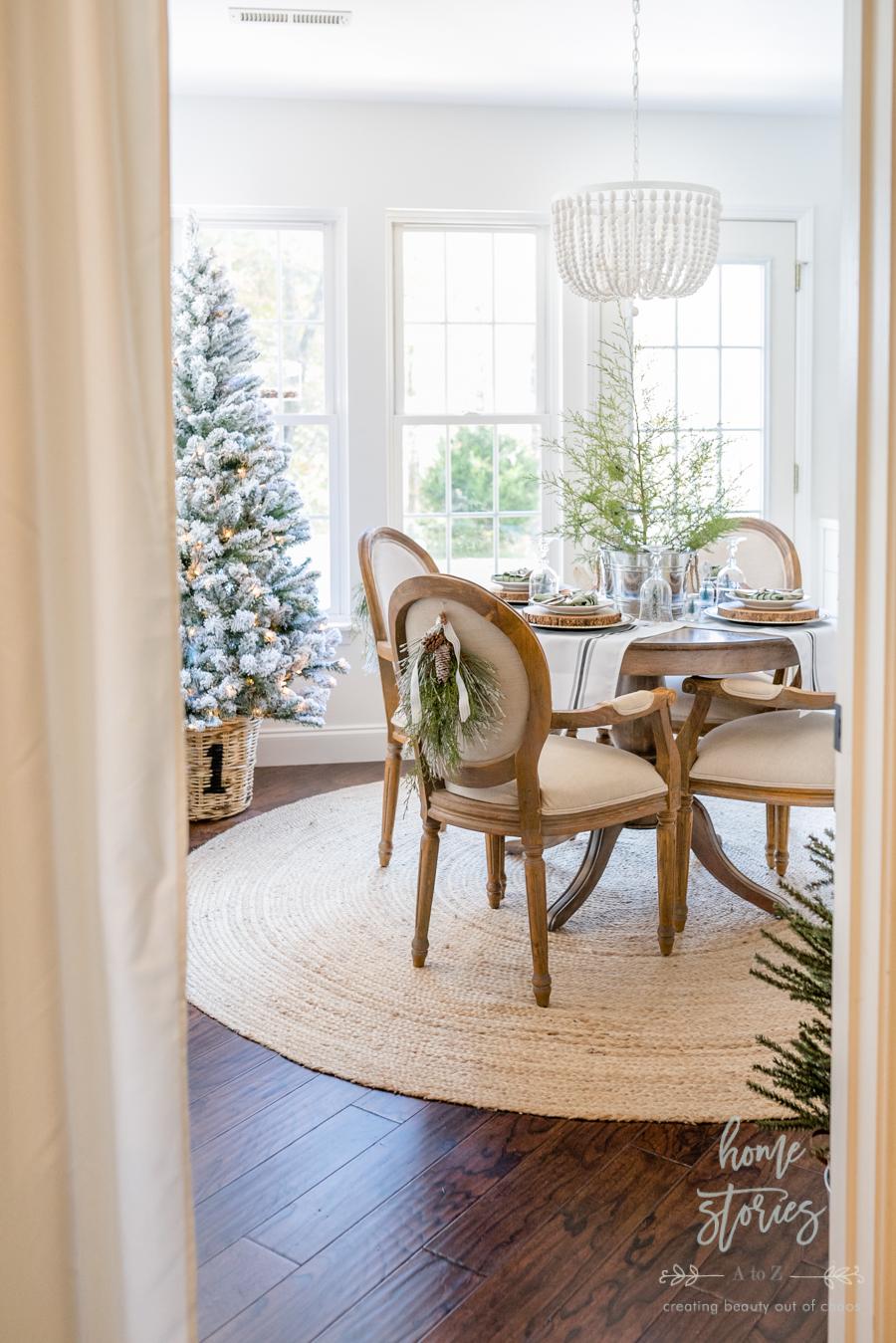 Simple Farmhouse Christmas Table Tips On Creating An